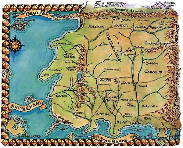The World of Robert Jordan, The Wheel Of Time - The Wheel of Time